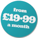 Websites from just £19-99pcm