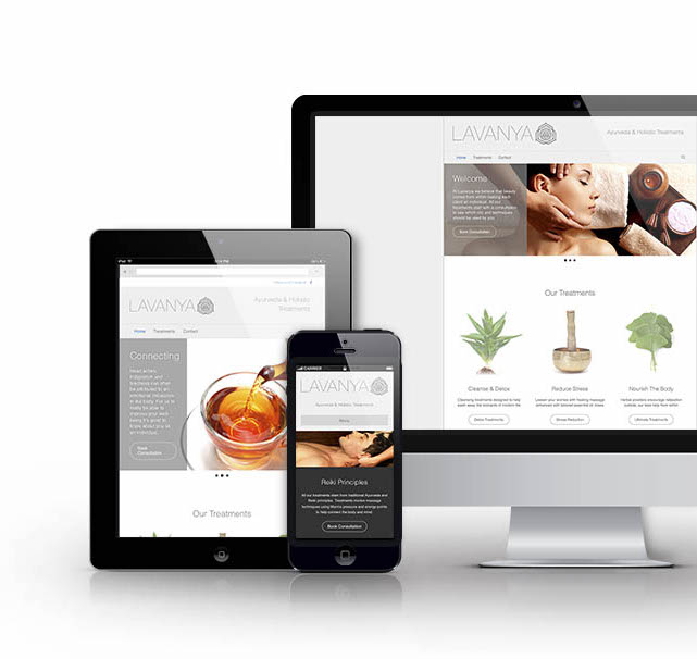 Lavanya Website Design