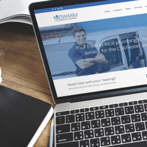 Koziwarm website design by Webwalrus