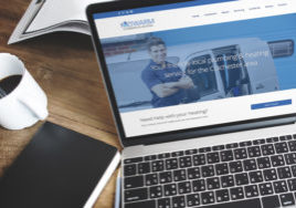 Koziwarm website design by Webwalrus