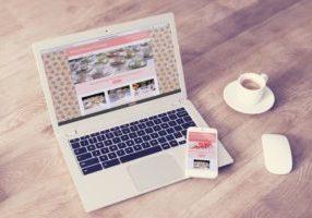 Pink House Vintage Website Design By Webwalrus