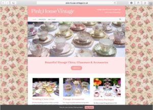 Pink House Vintage China Hire Homepage