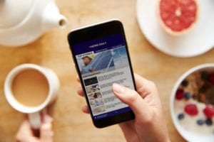 Mobile Responsive Website With Your Breakfast
